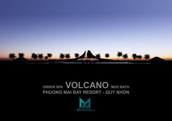 Khu Tắm Bùn Khoáng – VOLCANO